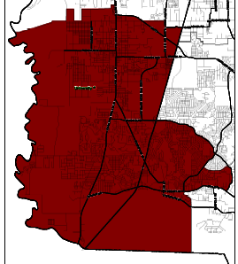 UH District boundary map