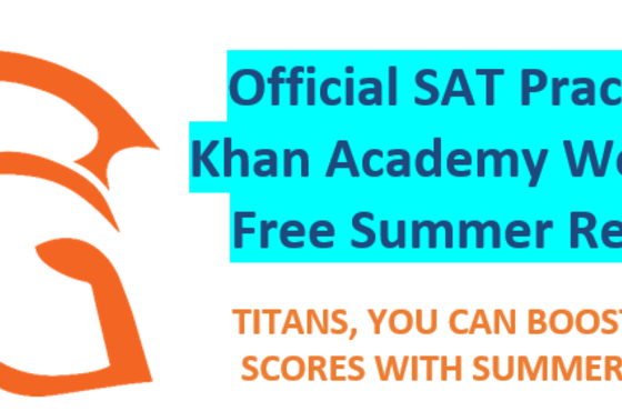 Official SAT Practice and Khan Academy Webinar for Free Summer Resources