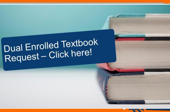 Summer Semester Dual Enrolled Textbook Request